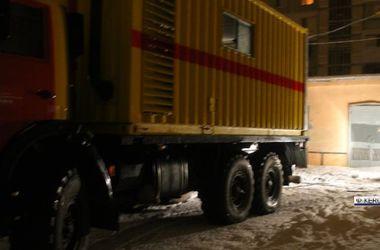 В результате аварии на электролиниях Керчь осталась без света и тепла