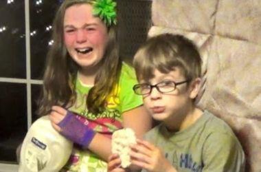 Видеохит: как реагируют дети, когда им дарят плохие подарки