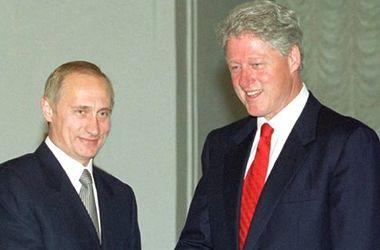 Билл Клинтон 15 лет назад похвалил потенциал Путина - The New York Times