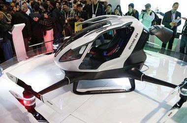 В Китае создали первое беспилотное летающее такси