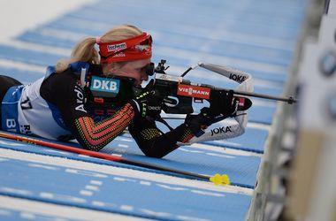 Пидгрушная и Джима вошли в топ-10 в спринте на Кубке мира по биатлону