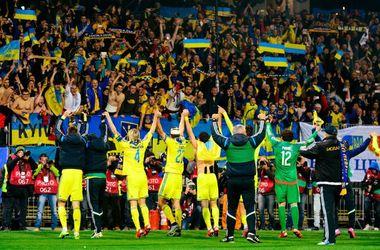 Сборная Украины по футболу - лучшая команда по итогам 2015 года