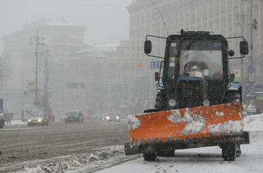 Очистить от снега киевские дороги администрация планирует до утра субботы - КГГА