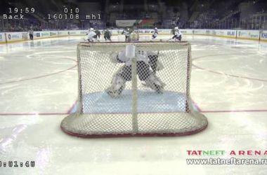 В России чуть не побили рекорд по самому быстрому голу в хоккее