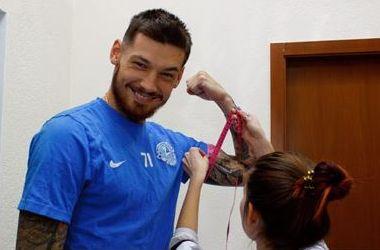 """Футболисты """"Днепра"""" проходят медосмотр после выхода из отпуска"""