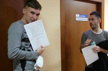 Динамовец Сергей Сидорчук сломал пальцы, играя в футзал