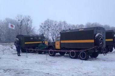 В Харьковской области семья с ребенком оказалась в снежном плену