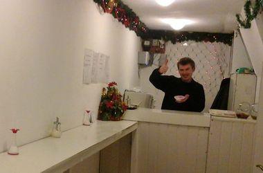 В Киеве открыли бесплатное кафе для бойцов
