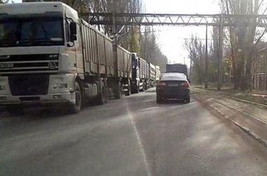 Одессу закроют для проезда грузовиков из-за угрозы транспортного коллапса