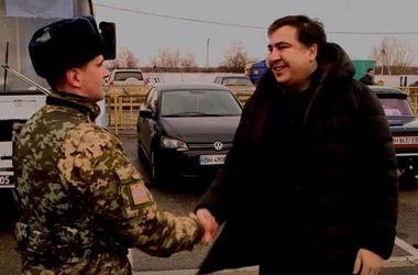 Как Саакашвили порядок на границе с Приднестровьем наводил