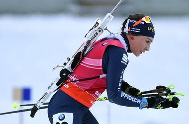 Елена Пидгрушная стала 16-й в индивидуальной гонке на этапе Кубка мира