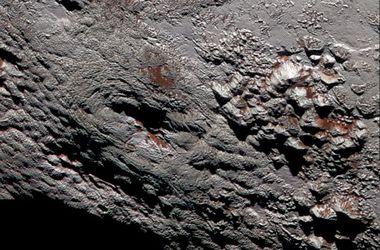 В NASA показали супервулкан на Плутоне