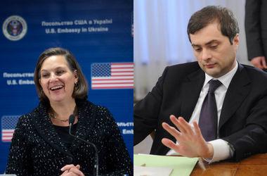 """Посольство США раскрыло детали переговоров """"серого кардинала"""" Кремля с помощником Госдепа"""