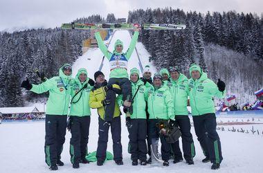 Чемпионат мира по полетам на лыжах выиграл Петер Превц