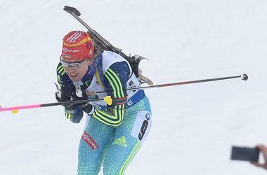 Сборная Украины победила в эстафете на Кубке мира по биатлону