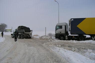 Трассу Одесса-Киев закрыли из-за непогоды