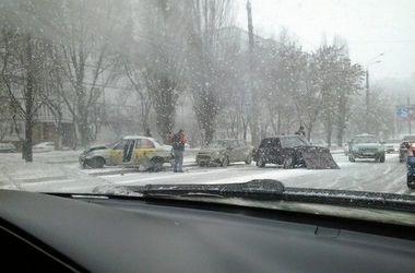 В Украину идет снежный шторм