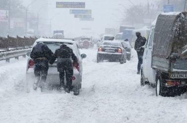 Еще ряд областей Украины может парализовать из-за непогоды