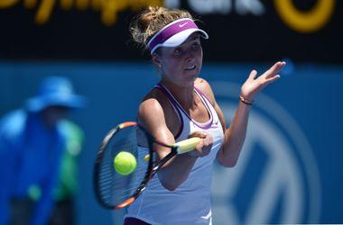 Элина Свитолина вышла во второй круг Australian Open