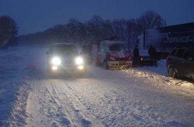 Трасса Киев – Одесса открыта для легковых машин и автобусов