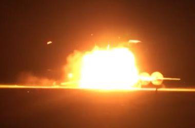 Видео крушения российского бомбардировщика Ту-95 попало в Сеть
