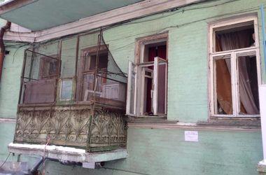 Фото с места страшного пожара в центре Киева