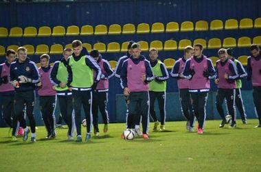 Молодежная сборная Украины не смогла обыграть Данию