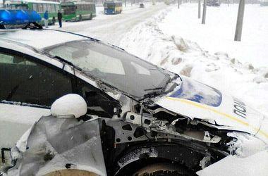 В Харькове копы столкнулись с трактором и притворились трамваем