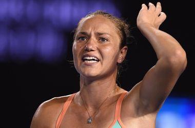 Катерина Бондаренко попрощалась с Australian Open