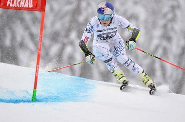 Горнолыжница Линдси Вонн выиграла Кубок мира через полгода после перелома ноги