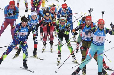 Сборная Украины заняла девятое место в эстафете на Кубке мира по биатлону
