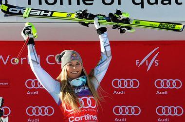 Горнолыжница Линдси Вонн возглавила общий зачет Кубка мира
