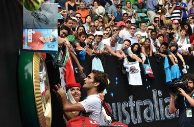 Роджер Федерер стал первым полуфиналистом Australian Open
