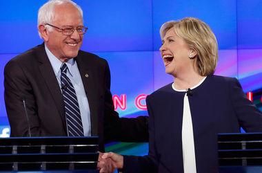 """В стане """"демократов"""" разгорается интрига: Сандерс сокращает отрыв от Клинтон"""