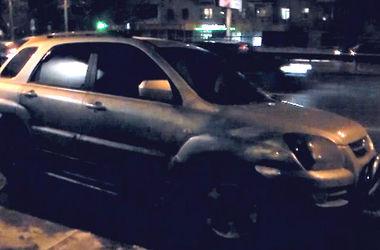 В Киеве поймали двух автоворов с марихуаной