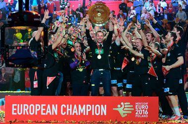 Сборная Германии выиграла чемпионат Европы по гандболу