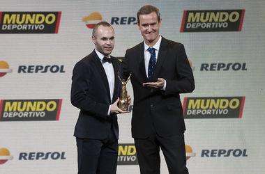 Андрес Иньеста признан лучшим спортсменом Испании