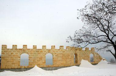В Одессе возле моря возводят Генуэзский замок