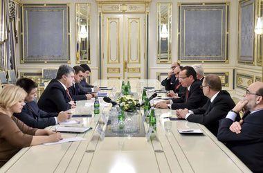 Порошенко: Украина рассчитывает на поддержку Германии в вопросах противодействия российской агрессии