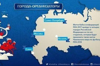 Россиян возмутил украинский Крым на презентации ФИФА о Кубке Конфедераций-2017