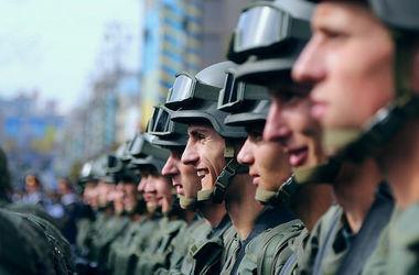 Нацгвардия планирует увеличить количество военнослужащих-контрактников