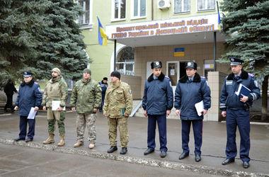 На улицы Славянска и Краматорска вышли группы быстрого реагирования