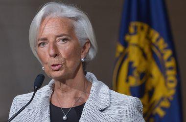 Лагард: В МВФ обеспокоены заявлением Абромавичуса