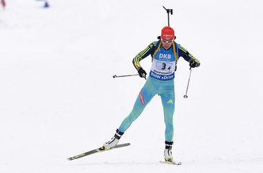 Елена Пидгрушная выиграла спринт на Кубке мира по биатлону в Канаде