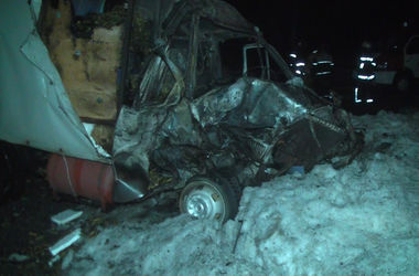 В Харькове произошло жуткое смертельное ДТП с пожаром