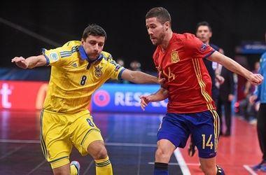 Сборная Украины проиграла Испании на Евро-2016