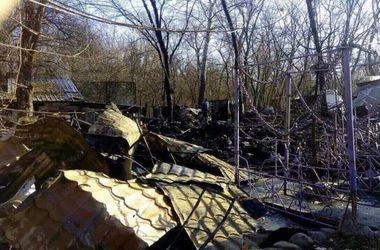 В Киеве дотла сгорело популярное кафе