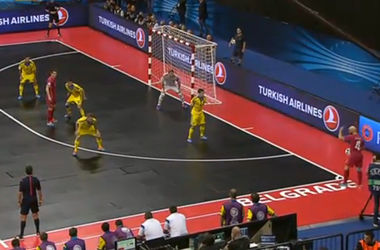 Украина пропустила гол на последней секунде и проиграла в 1/4 финала Евро-2016 по футзалу