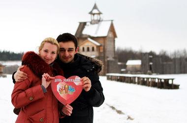 Как под Киевом отпразднуют День влюбленных