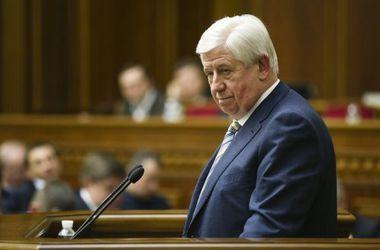 Генпрокурор Шокин уже подал заявление об отставке